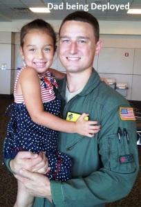 10 - dad being deployed