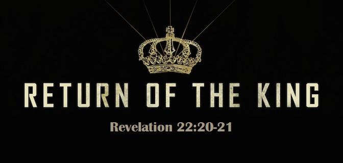 Week 7: THE RETURN OF CHRIST