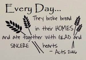 Acts 2.46