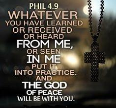 Philippians 4.9