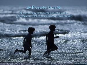 Proverbs 18 24