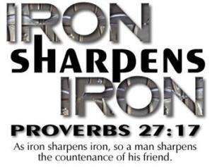 Proverbs 27.17