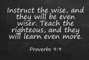 Proverbs-9.9