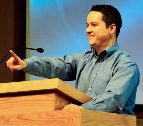 Pastor Dan Pulpit 3