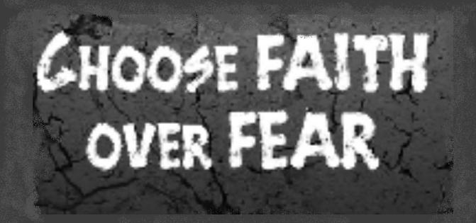 Faith Over Fear: Week 1